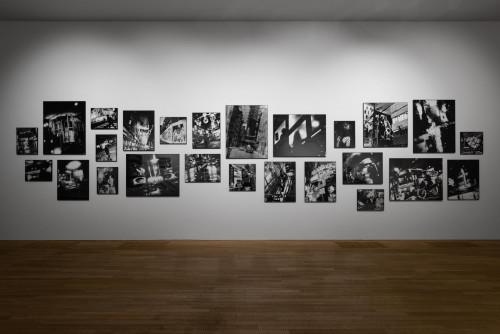 中藤毅彥, 《夜間爬行者》,1995年;《香港》,1994年;《東京》,2019年。