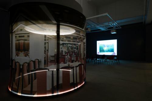 「咫尺之內,開始之前:隨意門及其他足跡」展覽場景