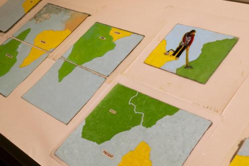 展覽場景:「水限 __ 陸界:邊境與遊戲」