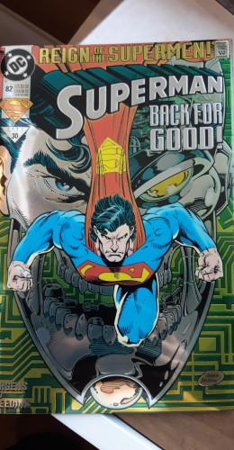 Superman back for good