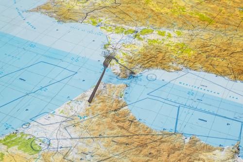 《(直布羅陀)海峽地圖》,2008年