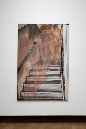 Jana Euler,《上樓梯的裸體》,2014年。