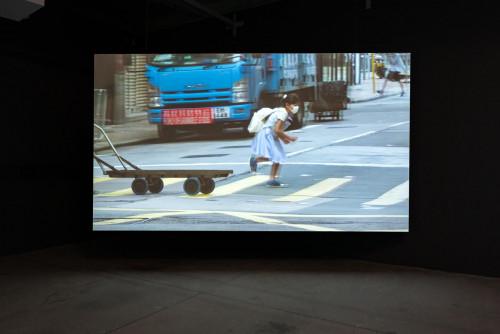 《不要踩到線》,兒童遊戲之二十三,香港中環、上環和堅尼地城,2020年