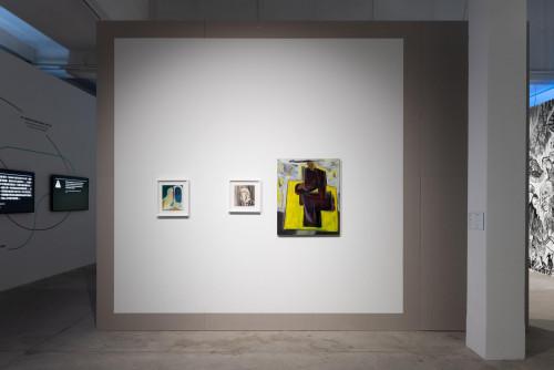 展覽場景:黎清妍,於「疫症都市:既遠亦近」。