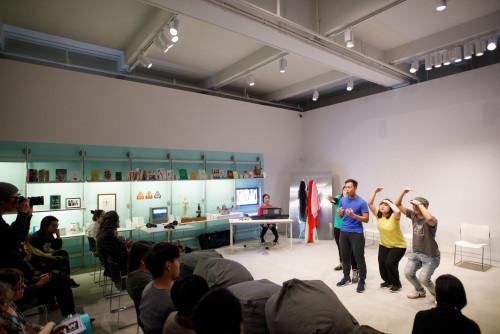 展覽場景:「一人一故事劇場」,於「疫症都市:既遠亦近」。
