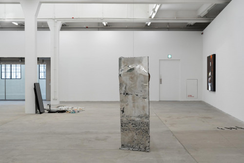 """Exhibition view, """"My Body Holds Its Shape"""""""